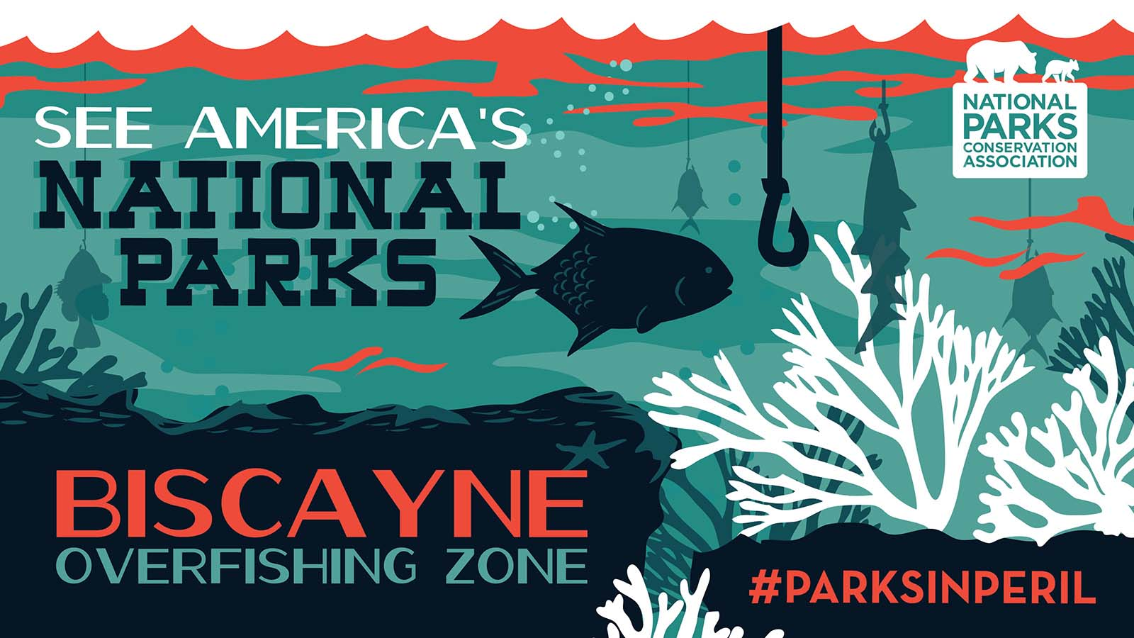 Give the park's severely depleted fish populations and corals a chance to recover by implementing a marine reserve.