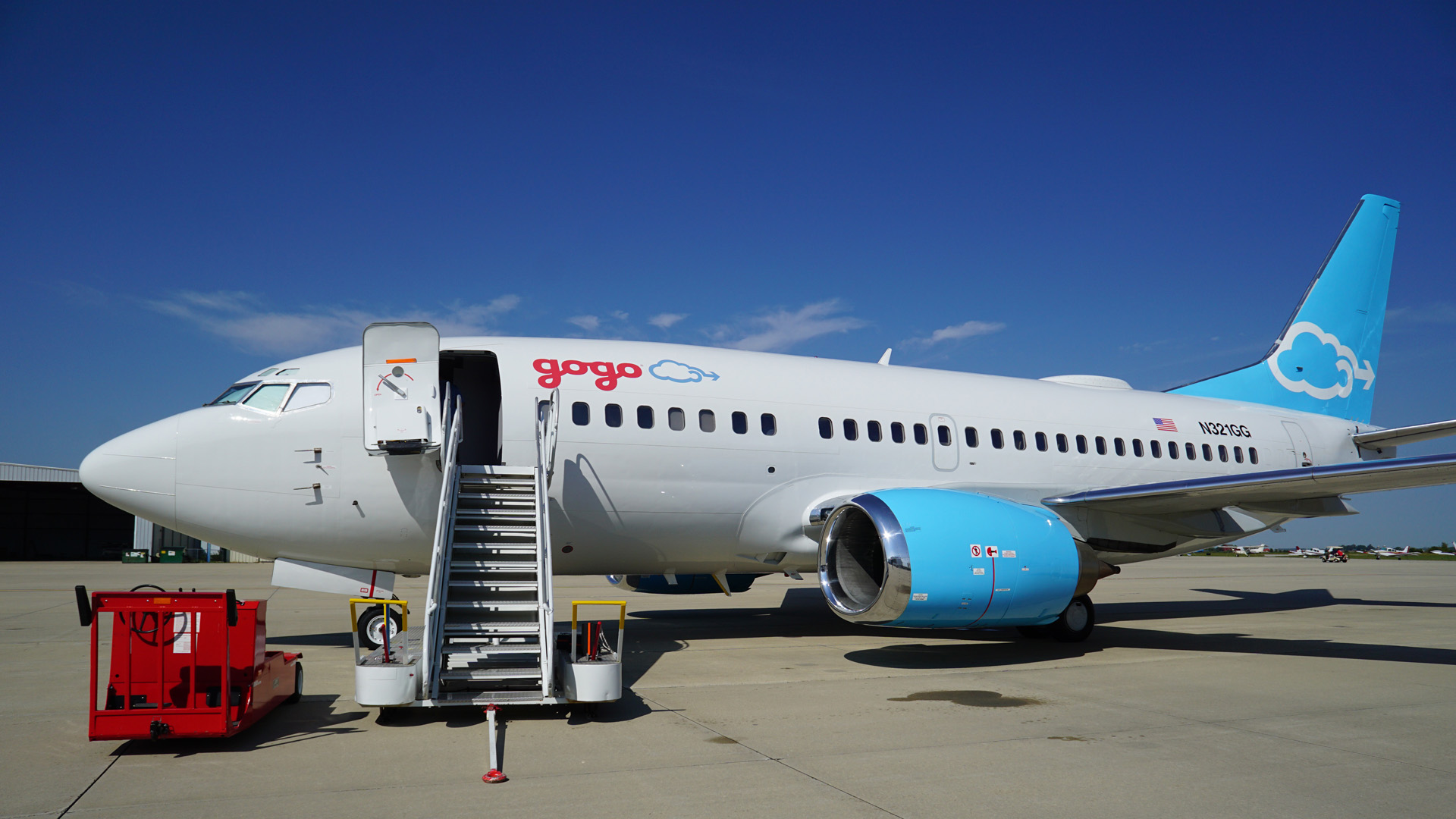 The Jimmy Ray, Gogo's 737 Test Plane