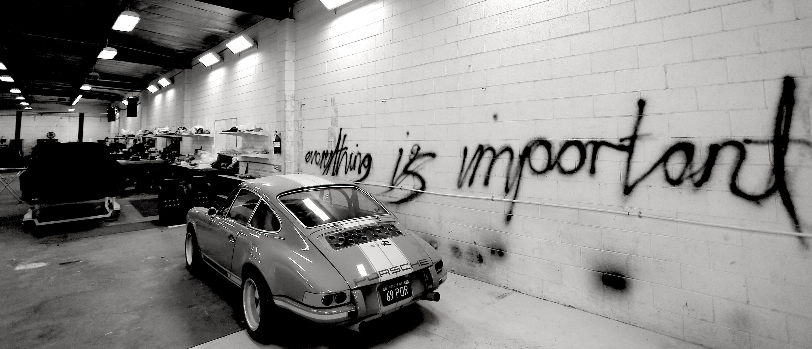 Rob Dickinson's original 1969 Porsche 911E 'Brown Bomber' was the genesis for creating Singer Vehicle Design, ...