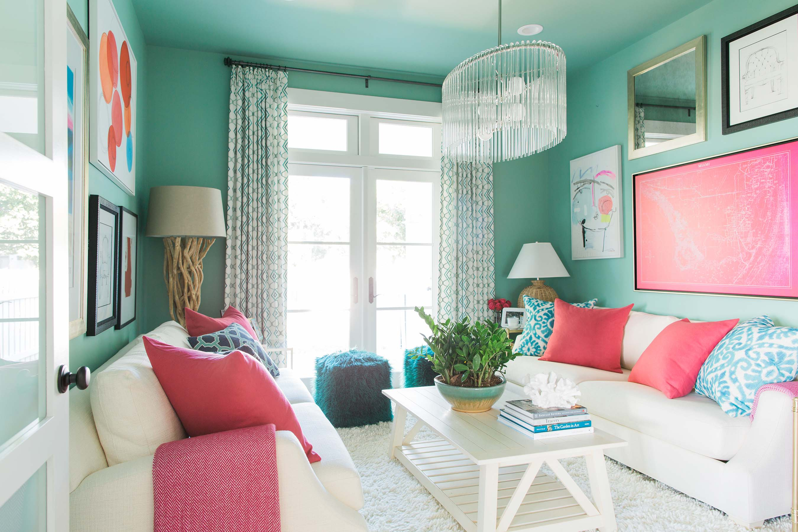 Fans get a peek at the first dream remodel for hgtv dream - Colour schemes for living rooms 2015 ...
