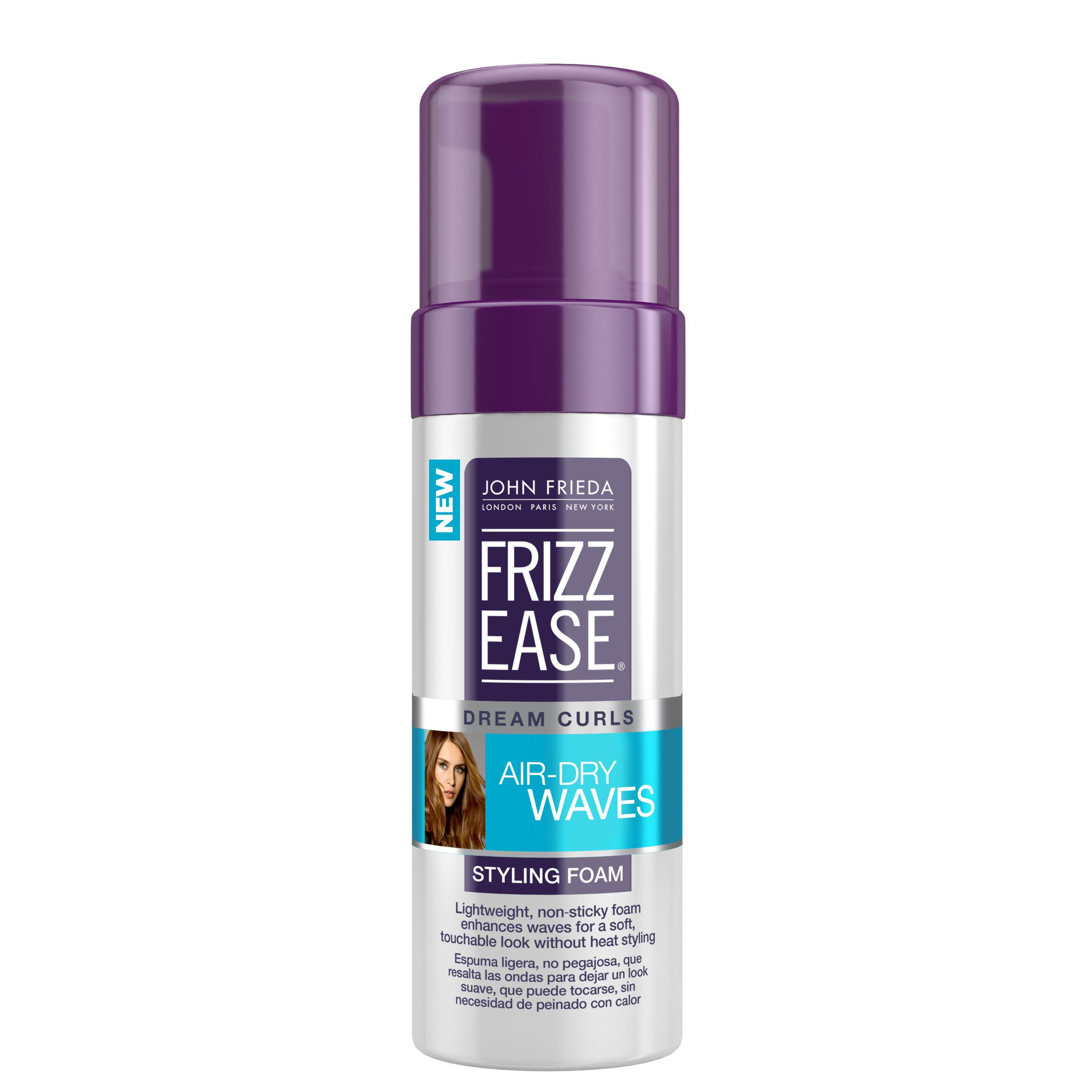 John Frieda Frizz Ease Dream Curls Air-Dry Waves Styling Foam