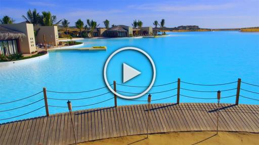Guinness World Record for Crystal Lagoons Egypt project