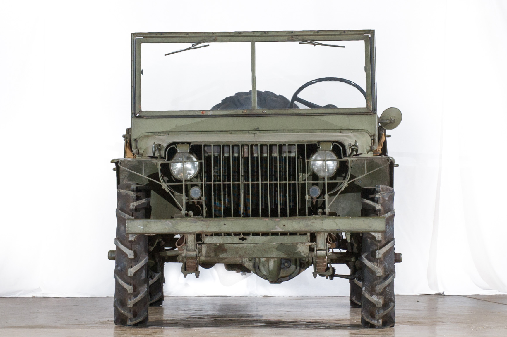 """The 1940 Ford Pilot Model GP-No. 1 Pygmy is the first of the """"jeeps"""" built to feature the now iconic flat grille design with incorporated headlights and vertical slats. This design was later adopted by Willys-Overland Motors, Inc. in the final WWII production """"jeep,"""" the MB in 1941. (Photo courtesy of the U.S. Veterans Memorial Museum/John Omenski)"""