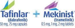 Tafinlar® + Mekinist® logo