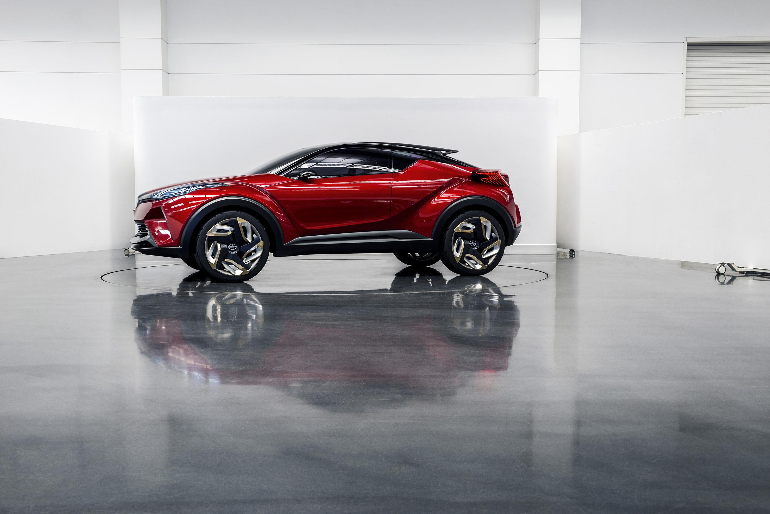 Scion C-HR Concept Urban Lifestyle Vehicle
