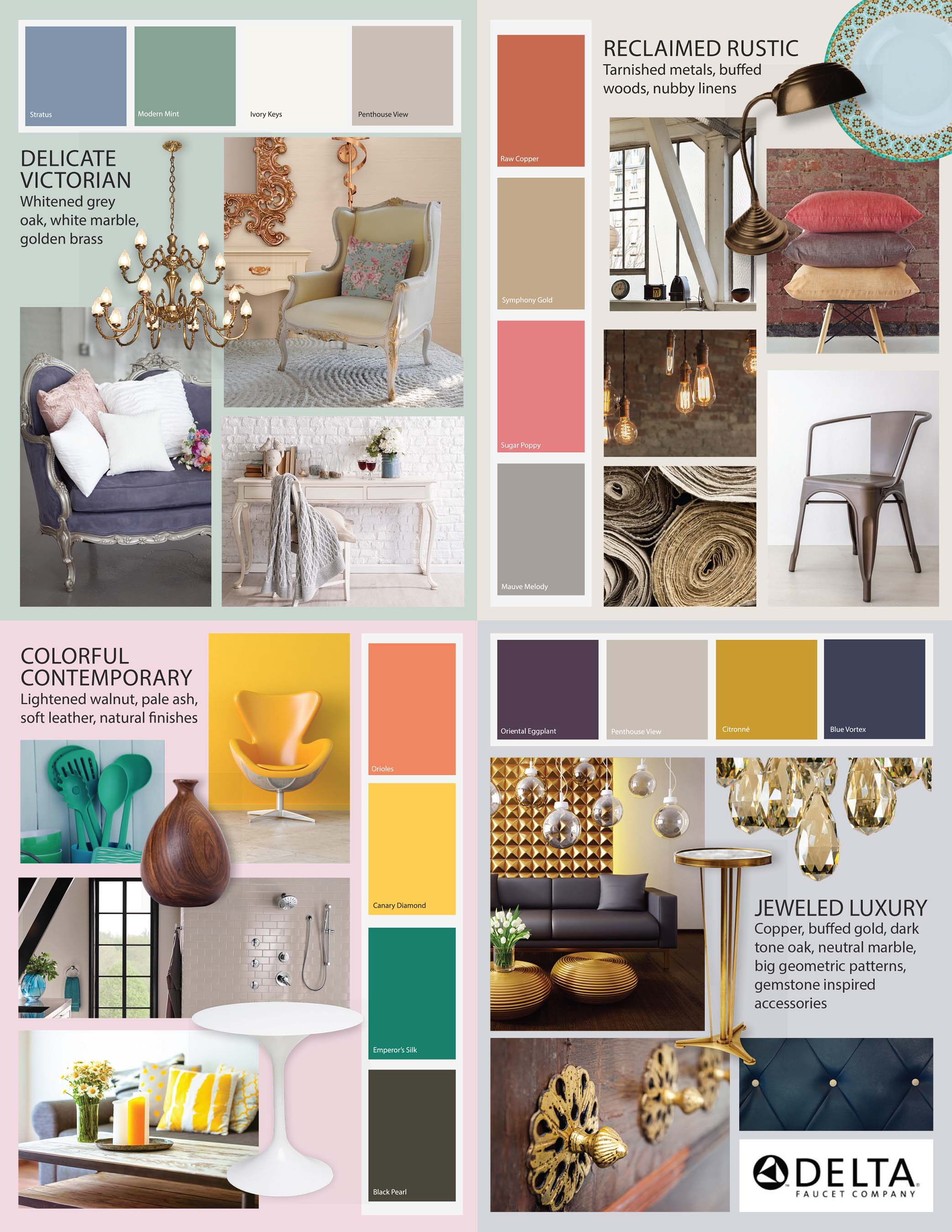 Merveilleux 2016 Interior Design Trend Report