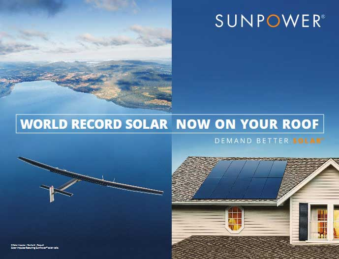 World record solar, now on your roof.