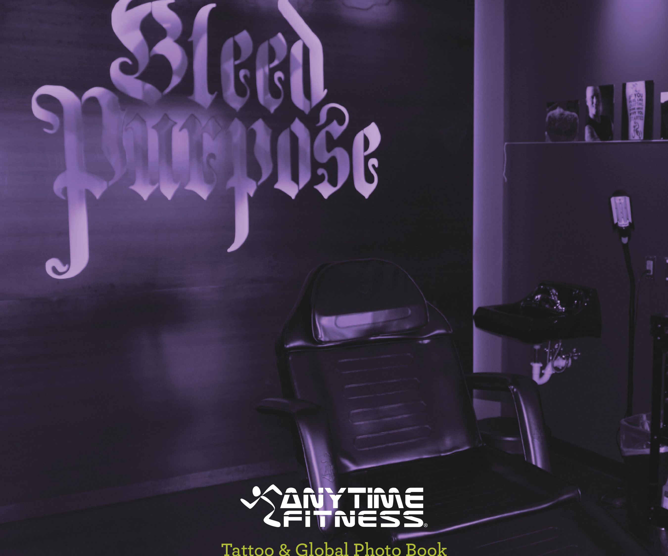 Anytime Fitness Tattoo and Photo Book