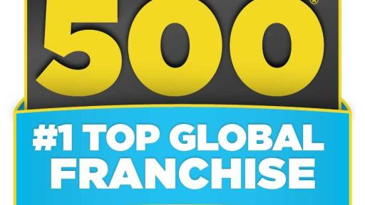 """ANYTIME FITNESS NAMED """" 1 TOP GLOBAL FRANCHISE"""" FOR THE"""