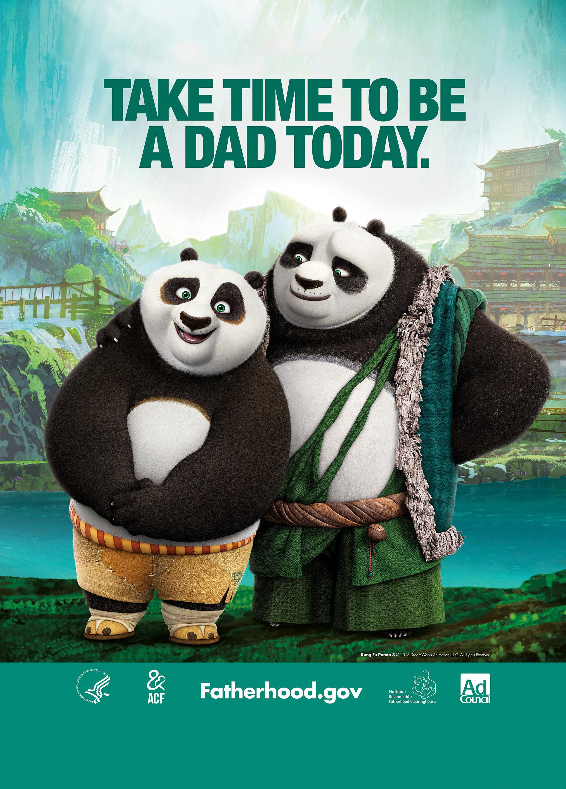 Kung Fu Panda 3 Bus Shelter PSA
