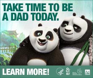 Kung Fu Panda 3 Web Banner PSA – 300x250