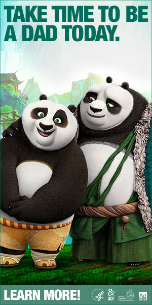 Kung Fu Panda 3 Web Banner PSA – 300x600