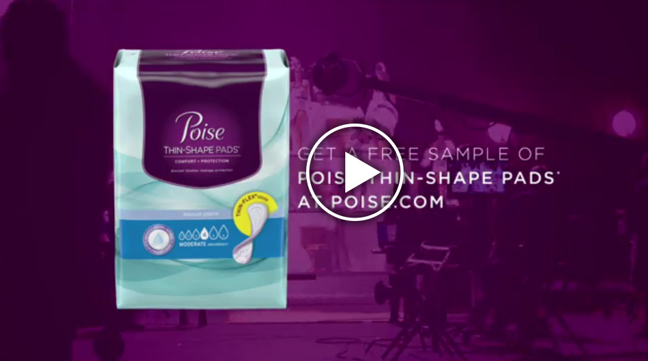Brooke Burke-Charvet explains why switching to Poise helps make women's lives easier in a new ad for Poise Thin-Shape pads.