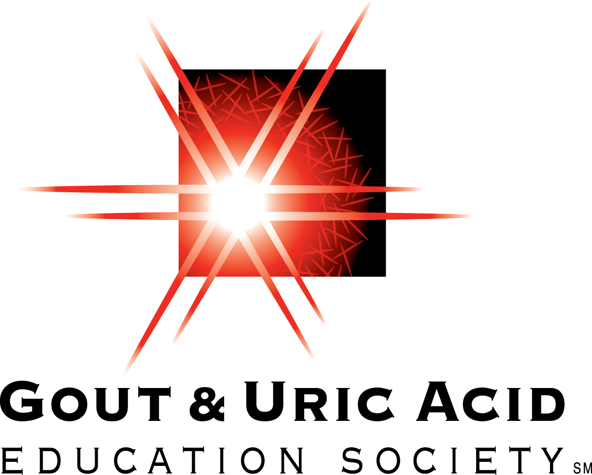 The Gout & Uric Acid Education Society logo