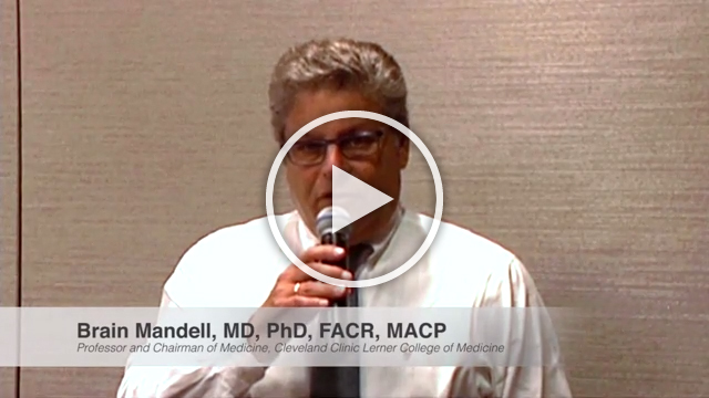 Dr. Brian Mandell addresses the connection between gout and hyperuricemia, and the need to aim for a target sUA level of 6.0 mg/dL or below.