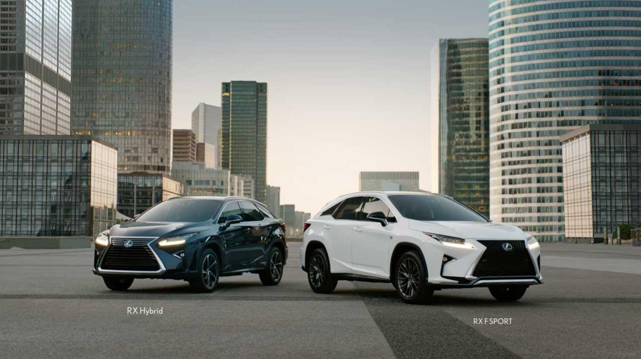 """Lexus RX """"Modern Luxury"""" Spot"""