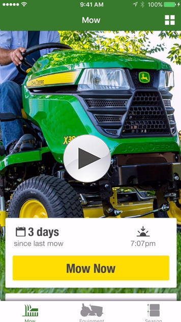 ID your John Deere equipment, and pull up maintenance and service recommendations. Check out step-by-step instructions for simple fixes, and instantly contact your local John Deere dealer.