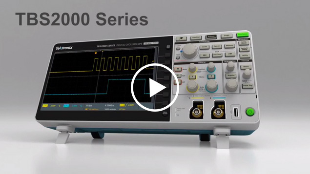 Learn about the best-in-class features delivered with the new TBS2000 Series Oscilloscope