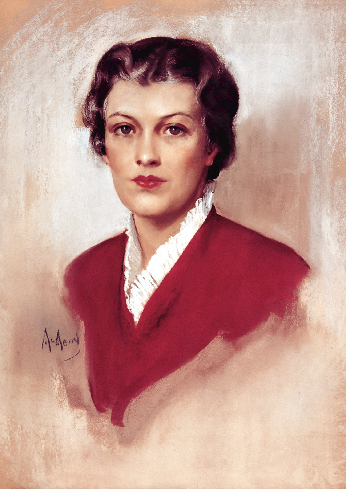 The first portrait of Betty Crocker was created in 1936 and remained the official likeness for nearly 20 years