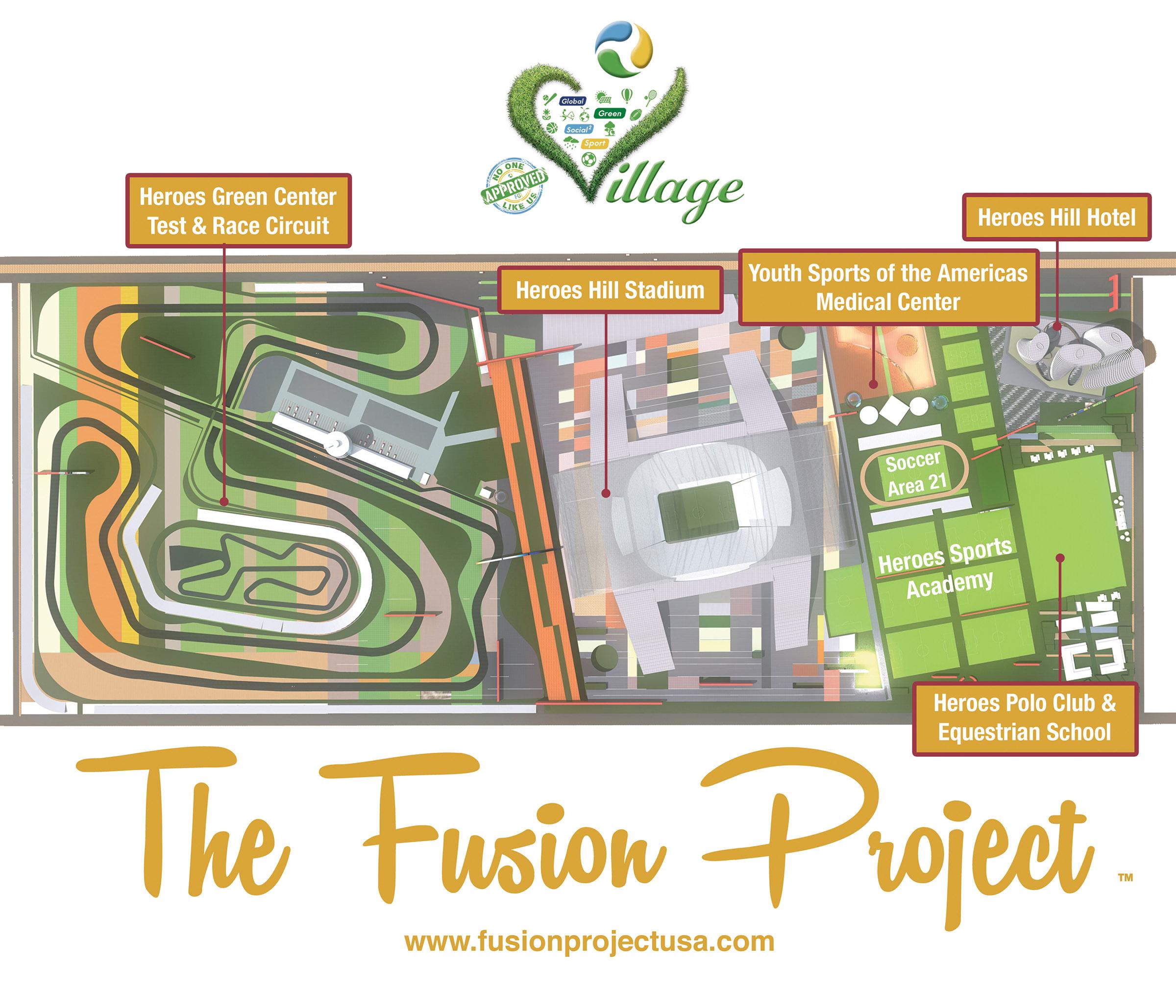 Masterplan Las Vegas Green Sports Village