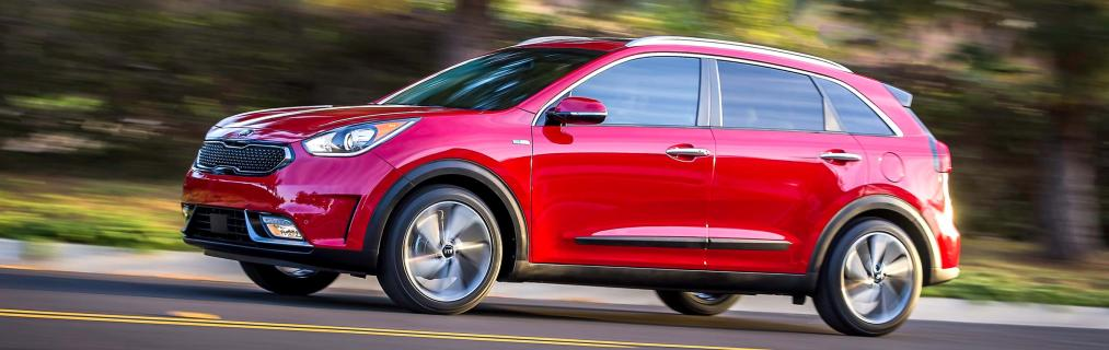All New 2017 Niro Hybrid Utility Vehicle Arrives In The
