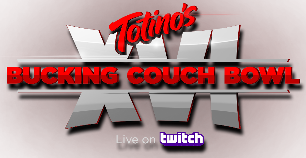 Bucking Couch Bowl logo