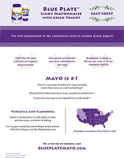 Blue Plate Mayo Fact Sheet Download