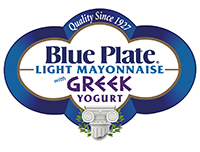 Blue Plate Mayo logo