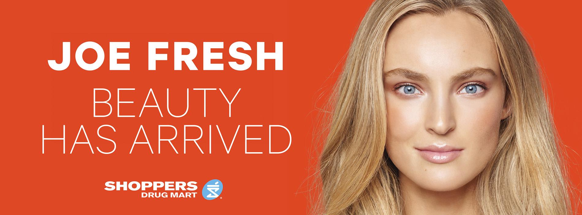 Canadian Beauty Leader Shoppers Drug Mart Welcomes Joe Fresh Beauty