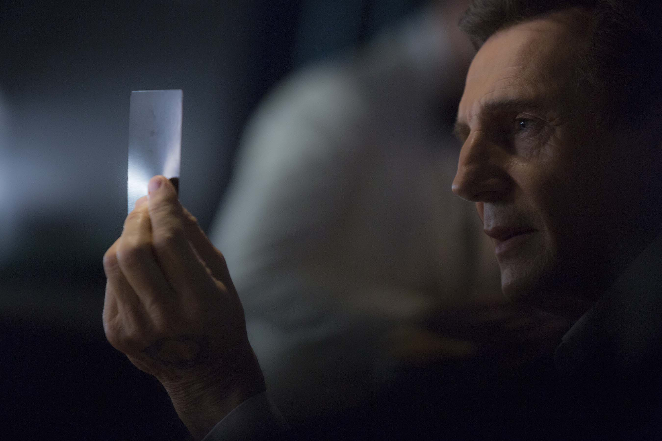 LIAM NEESON TRANSPORTS TV TECHNOLOGY FROM THE FUTURE IN LG S FIRST
