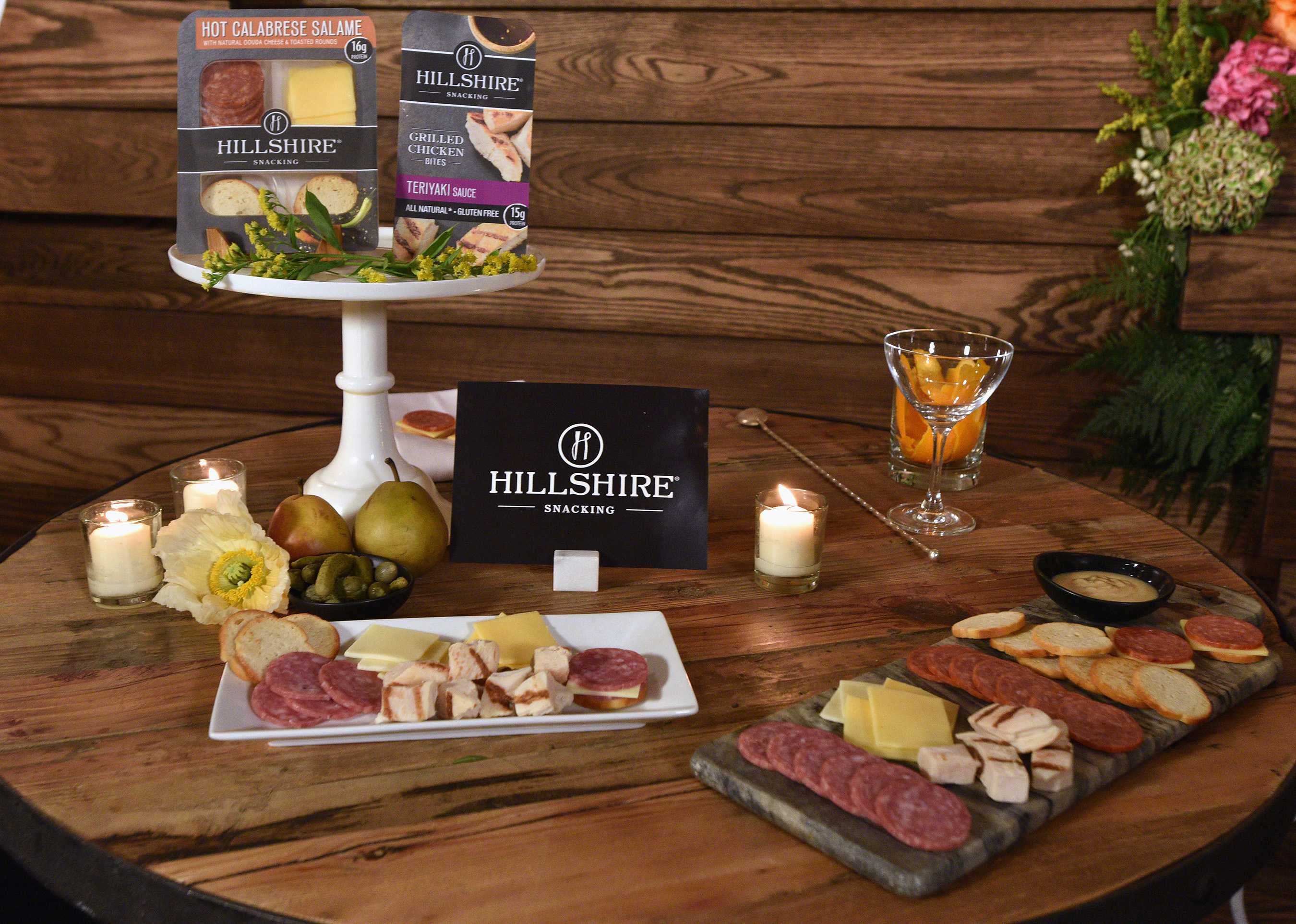 Hillshire Snacking brand is a new snacking brand that delivers perfectly portioned protein snacks for a new, elevated on-the-go eating experience to satisfy a more sophisticated food palate.