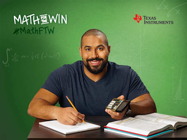 Studying for his Ph.D. in applied mathematics at MIT, John Urschel shows students how learning math in the classroom pays off when outside the school walls.