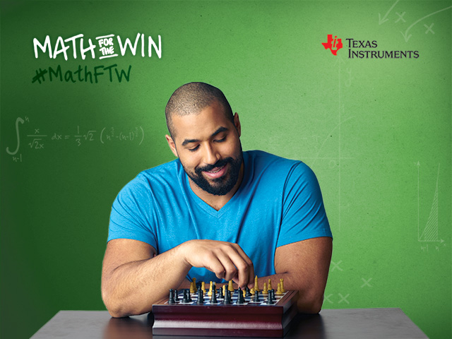 John Urschel's love of chess uses the same logical reasoning found when solving mathematical equations.