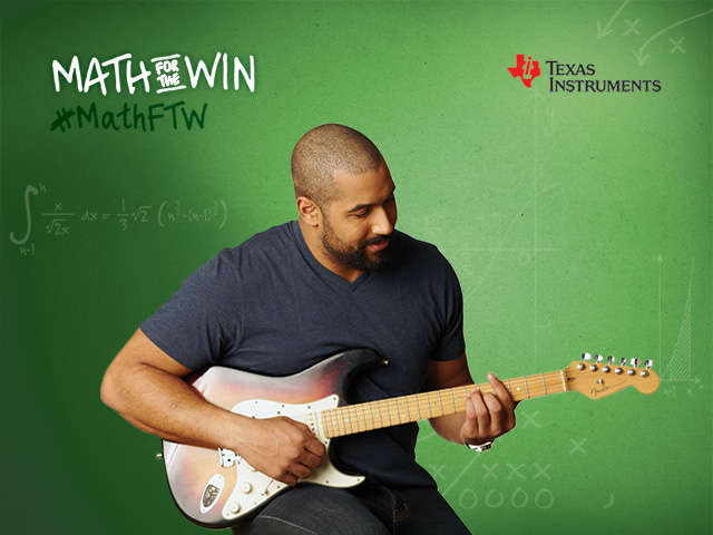 Whether rocking out or strumming along to a classical tune, John Urschel uses math to understand the rhythm and beat of any song.