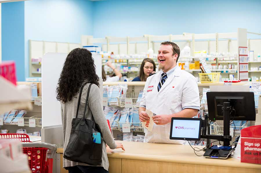 cvs pharmacist enjoys laugh wpatient - Cvs Pharmacy Technician Job