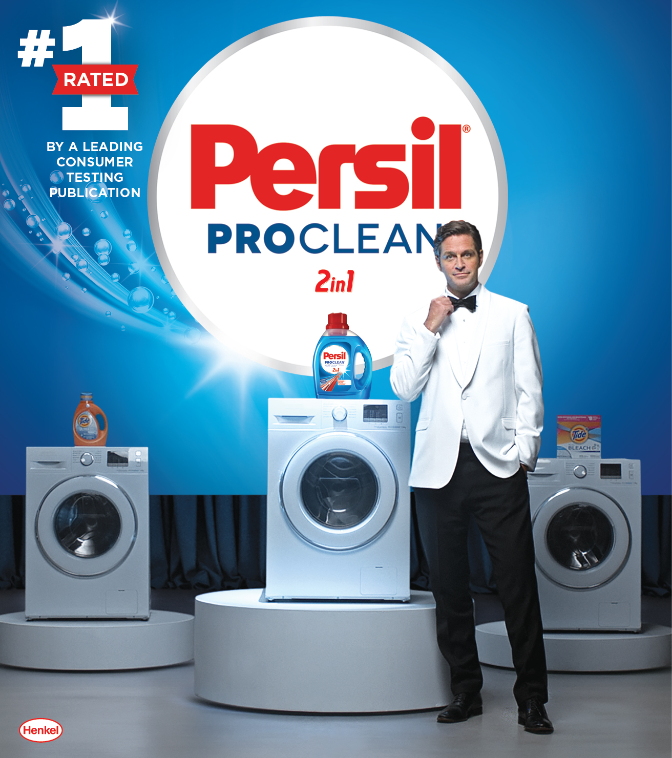 A leading consumer testing publication recently tested the top laundry detergent brands in America. Persil ProClean 2in1 didn't only beat Tide, it beat every single detergent tested.