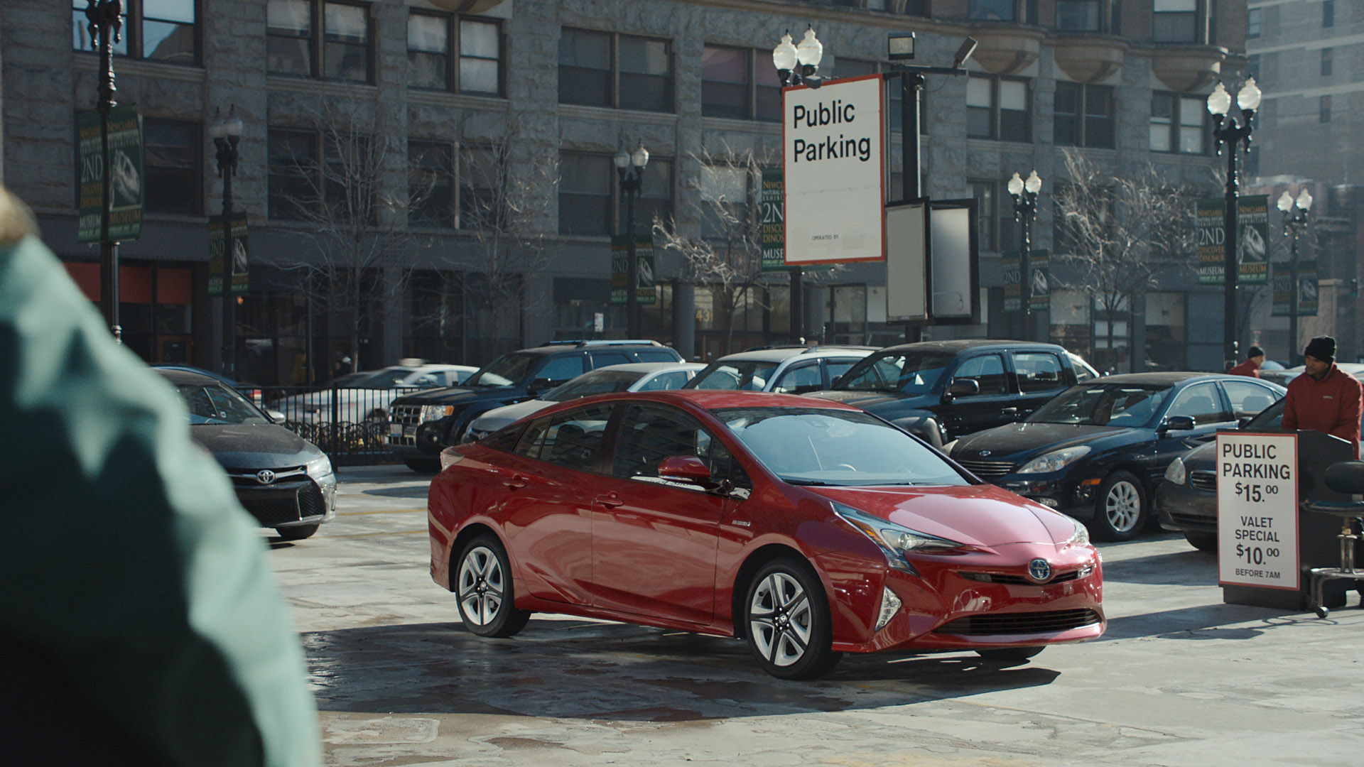 Toyota chases the spotlight with super bowl ad starring the all new 2016 prius