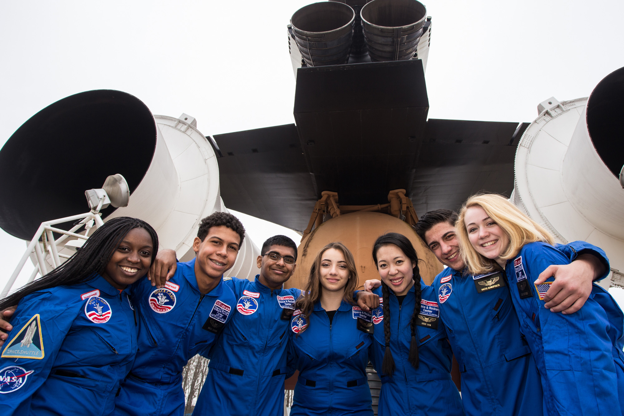 Honeywell Leadership Challenge Academy is a weeklong program that runs once a year, and is open to all students, ages 16-18, of current full-time Honeywell employees.