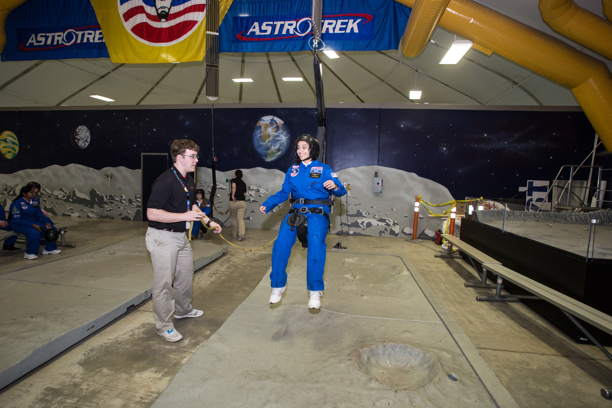 Honeywell Leadership Challenge Academy provides innovative activities to help develop students' leadership skills through technology and science-oriented activities like shuttle missions and a moon walk.