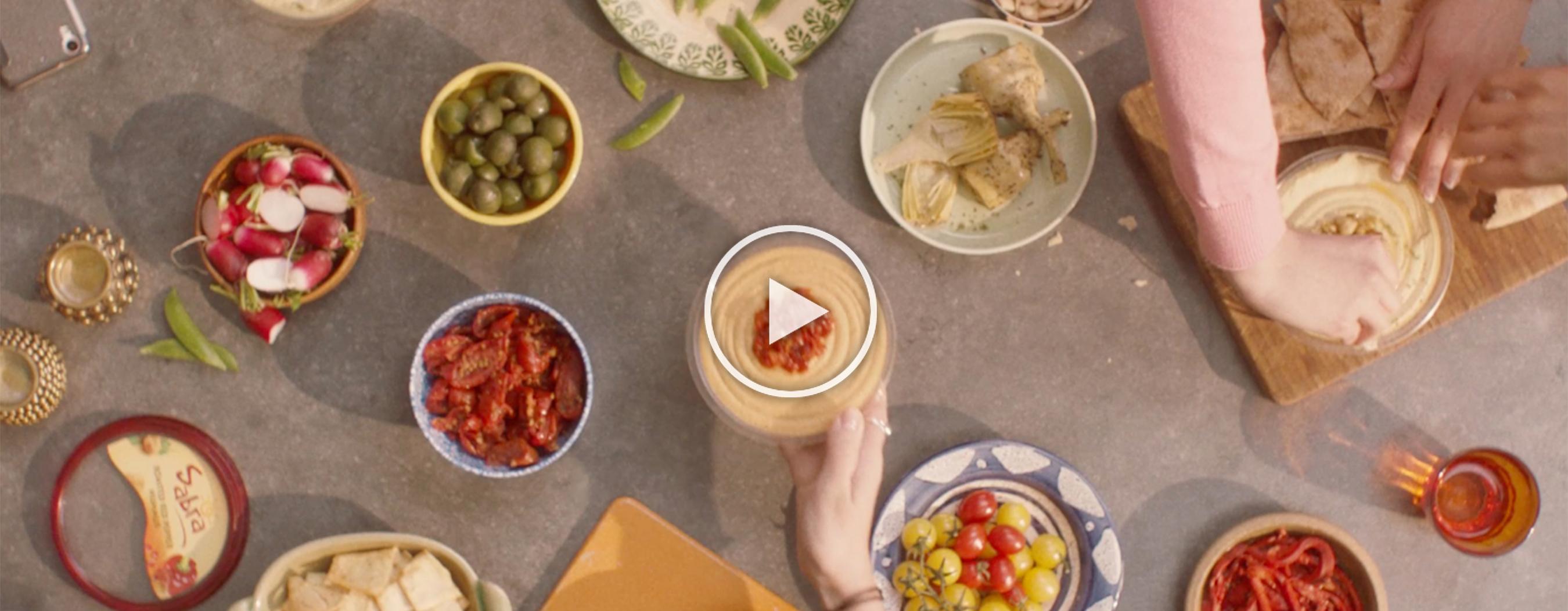 Sabra Launches New Ad Campaign.