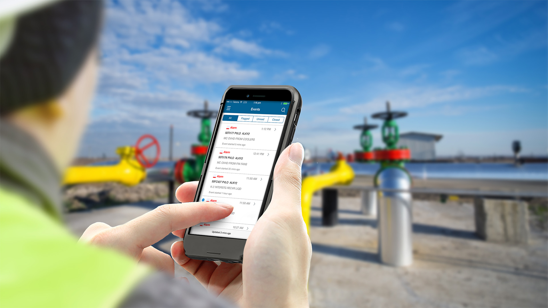 Honeywell Pulse is a new mobile app providing plant managers immediate notifications as well as real-time plant performance data and analytics direct to their smartphones.