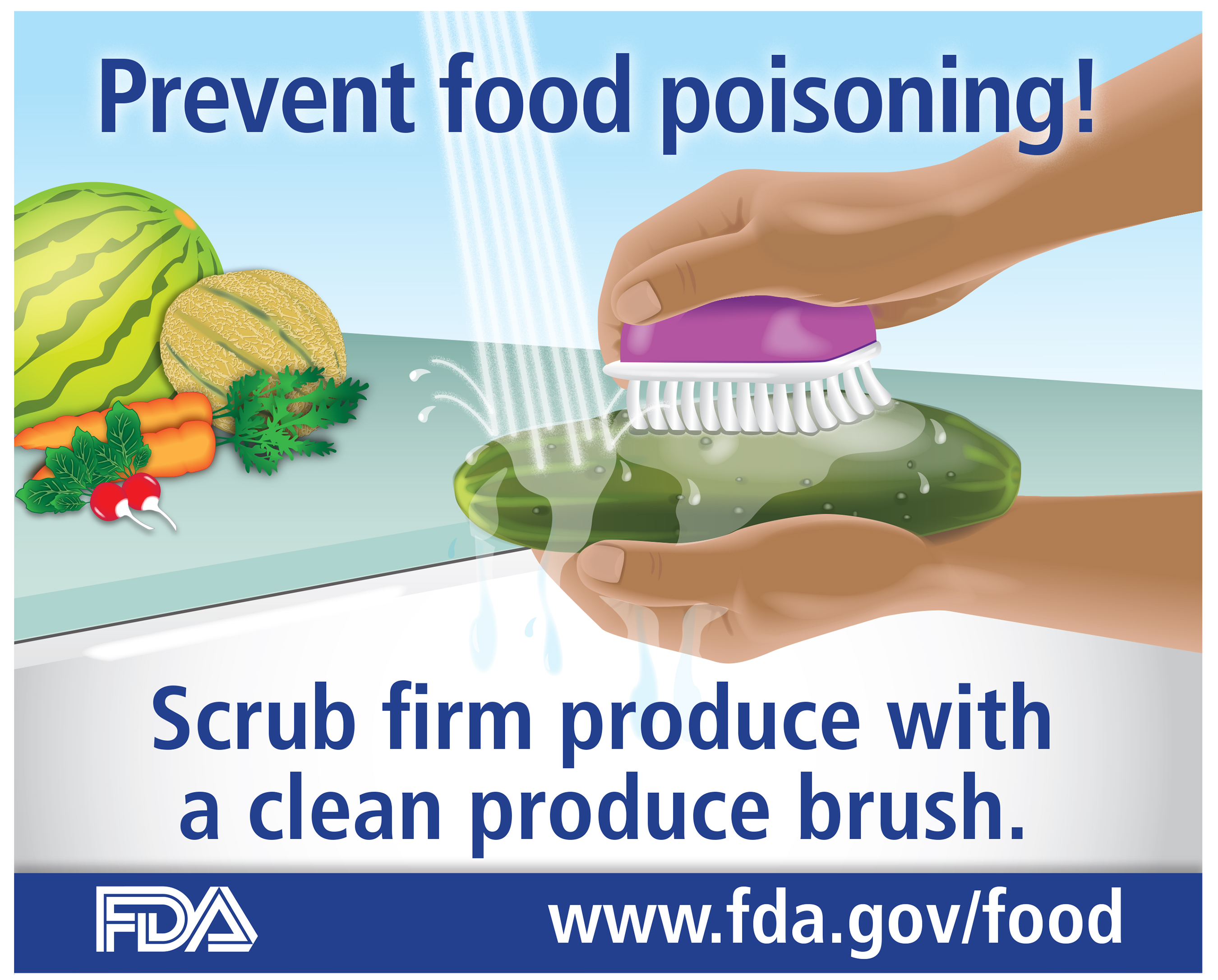 Food Safety Tips For Fruits Vegetables And Fresh