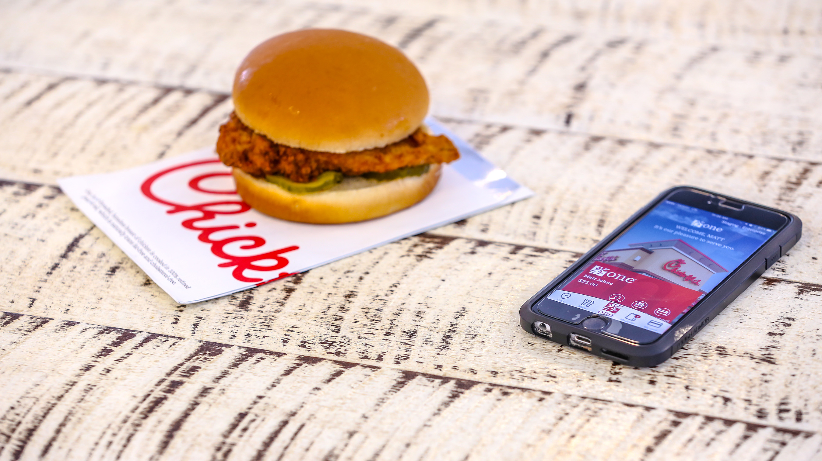 Any customer who downloads (or updates) the free app and creates a Chick-fil-A One account between June 1 and June 11 will receive an offer for a free chicken sandwich, redeemable through June 30.