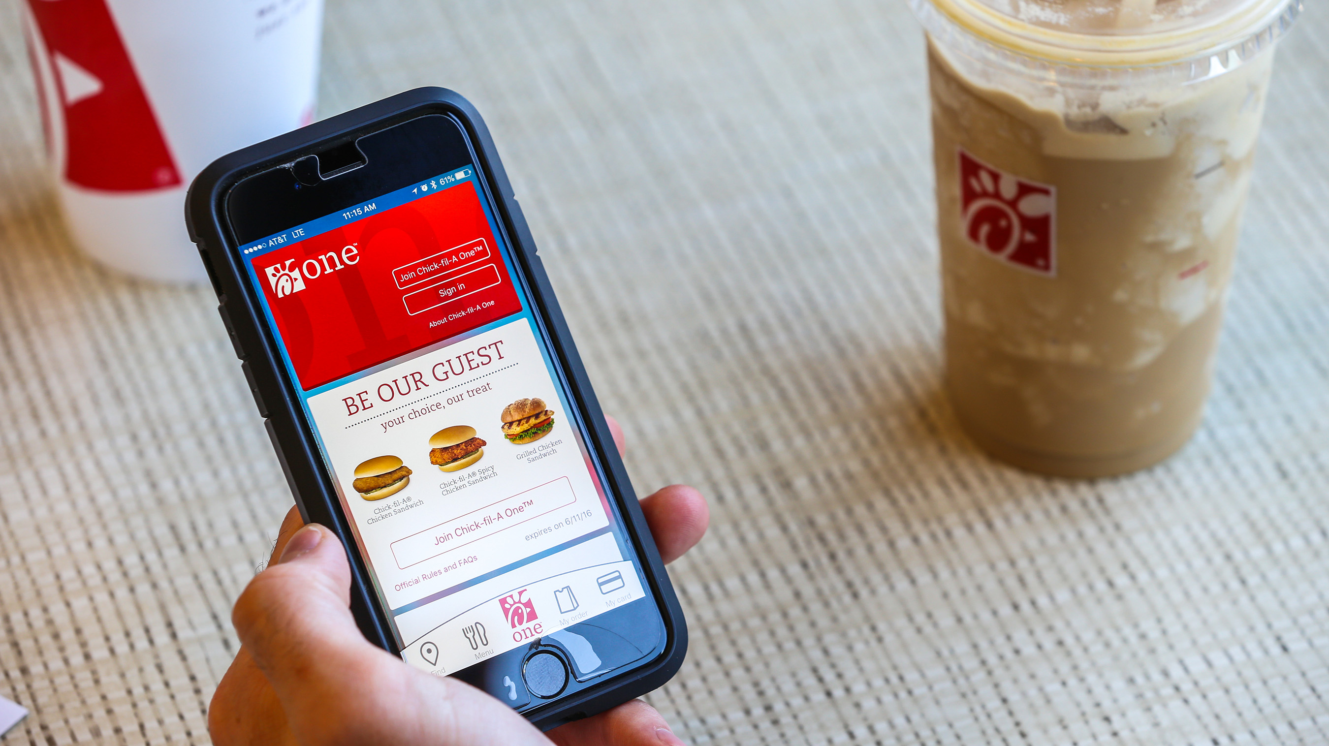 Chick-fil-A® launches the new Chick-fil-A One™ app on June 1.