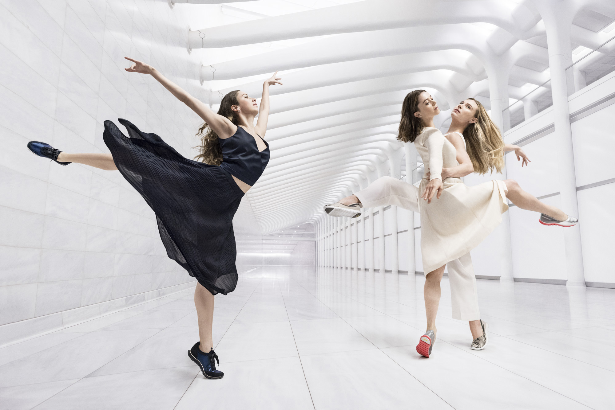 Cole Haan Spring 16 Campaign – The Art of Elegant Innovation (Gretchen Smith, Megan Fairchild, Sara Mearns)