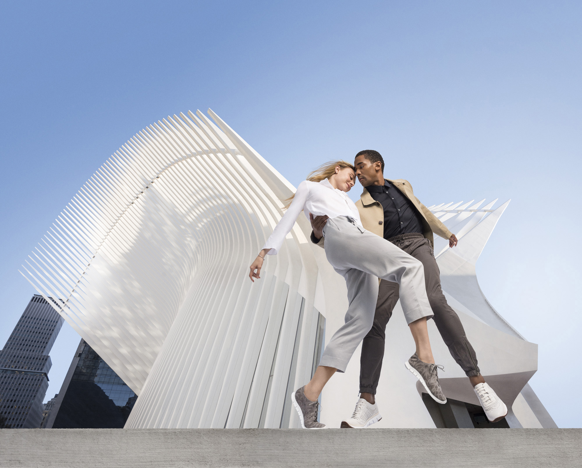 Cole Haan Spring 16 Campaign – The Art of Elegant Innovation (Sara Mearns, Craig Hall)