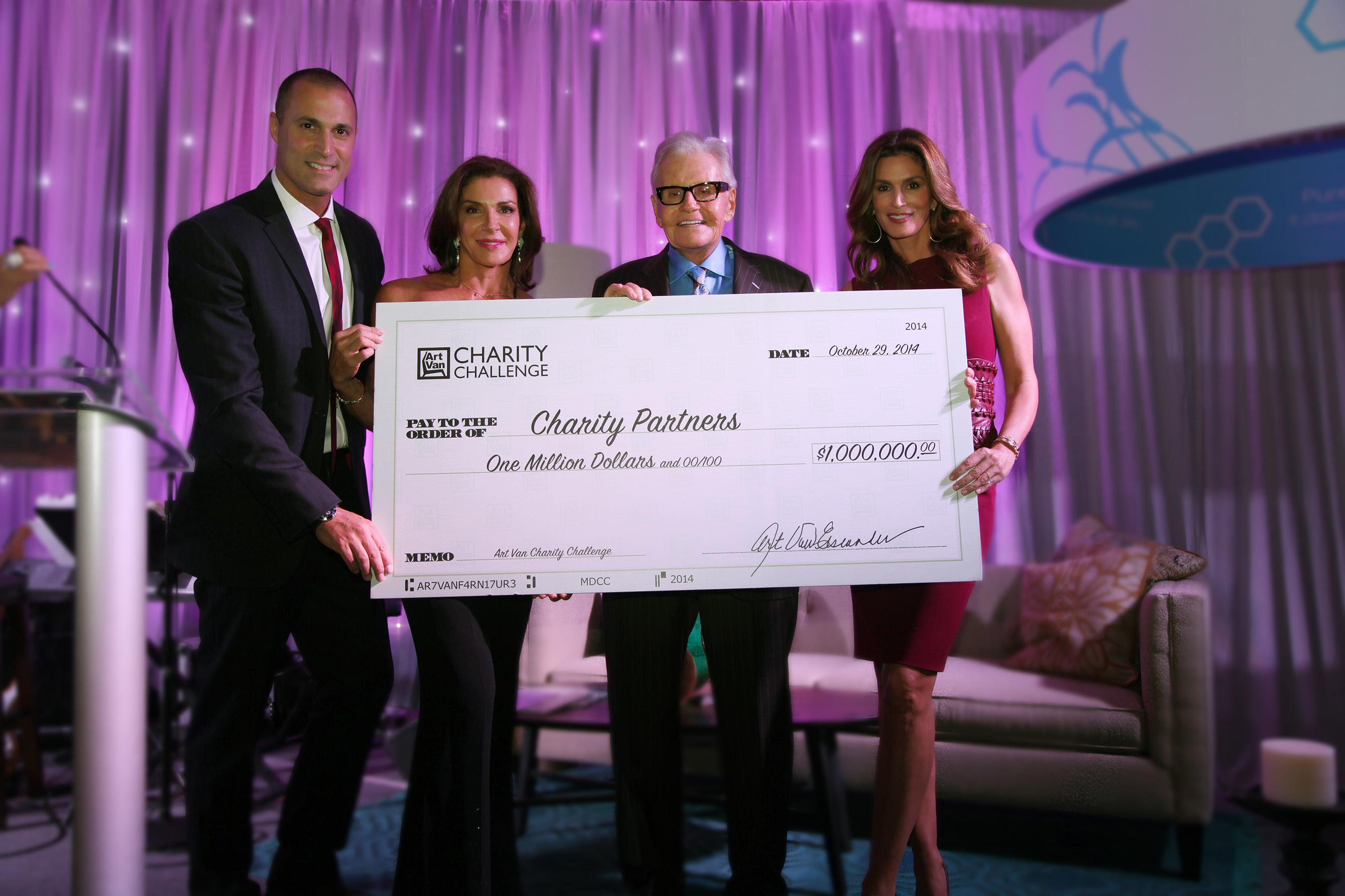 Art Van Charity Challenge Announcement