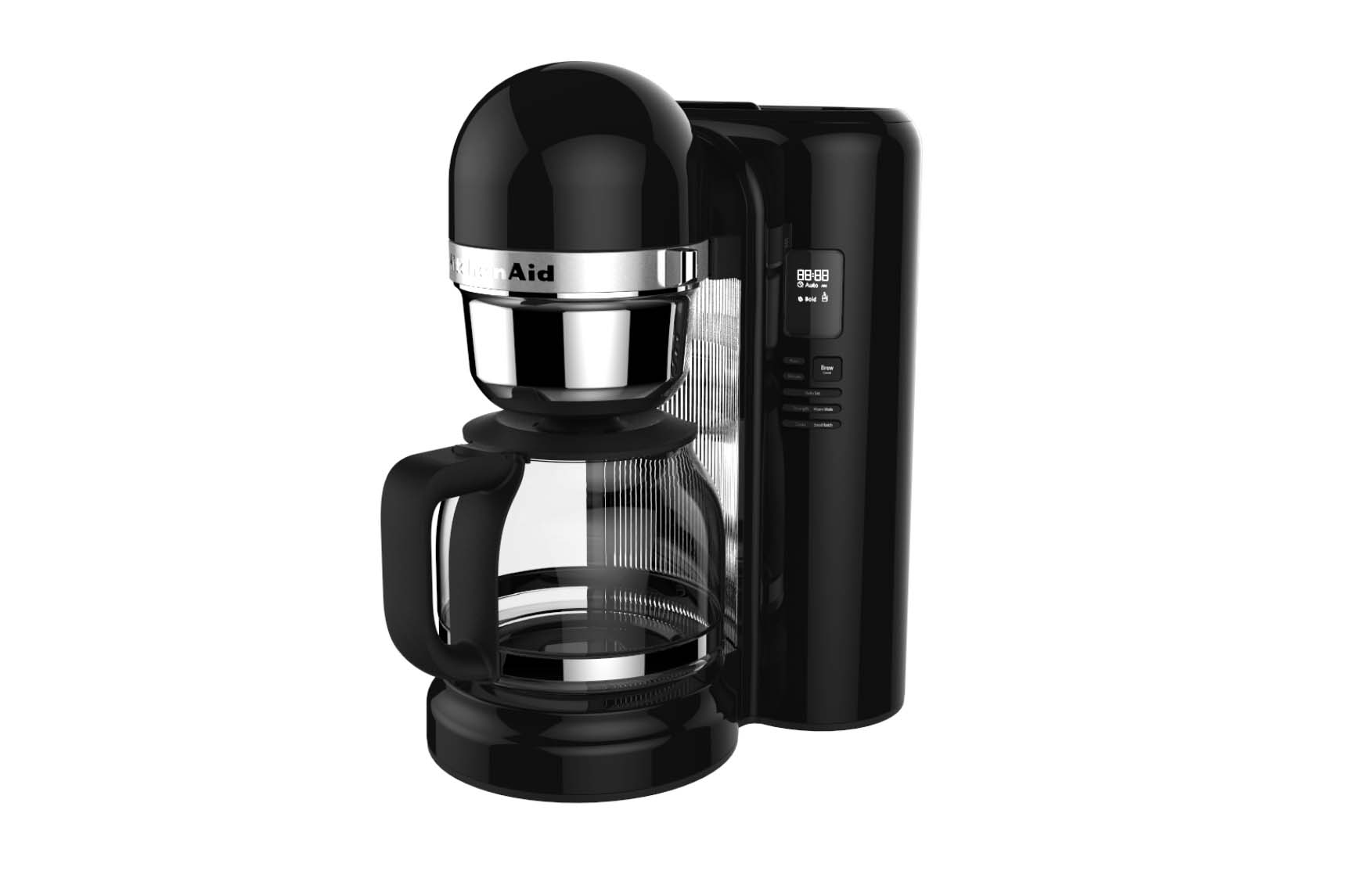 kitchenaid 12cup coffee maker with one touch brewing