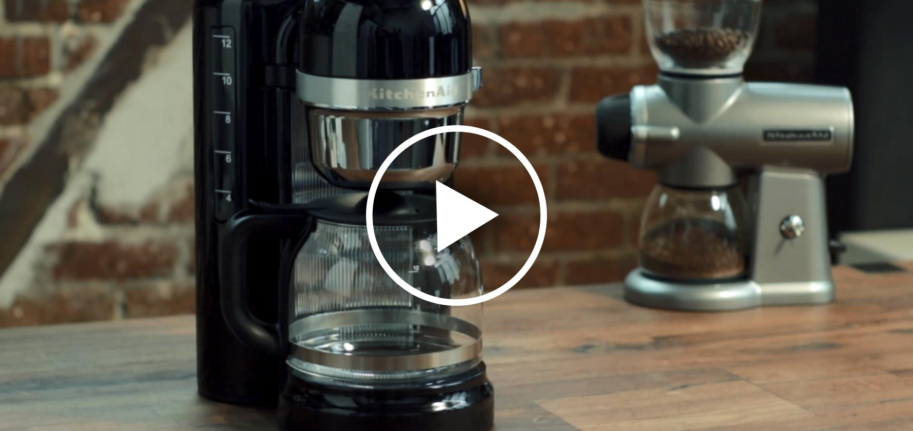 Kitchenaid Grind And Brew Coffee Maker : NEW COFFEE PRODUCTS FROM KITCHENAID