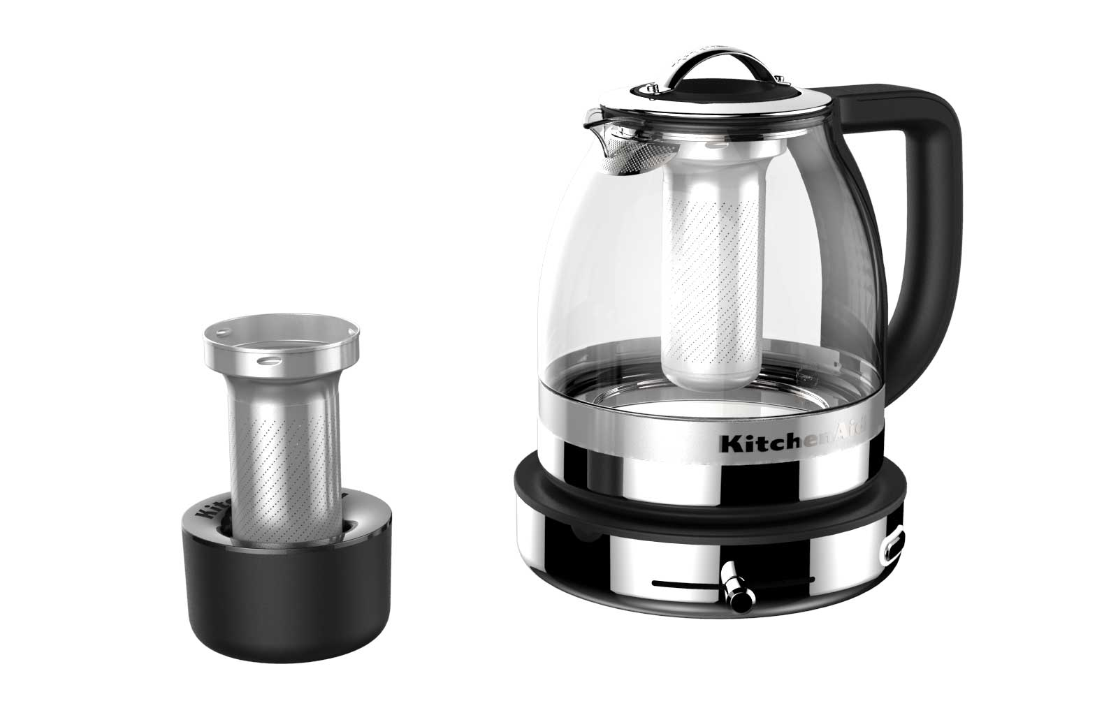 KITCHENAID® GLASS TEA KETTLE OFFERS TEA LOVERS EASY MASTERY OF THE ...